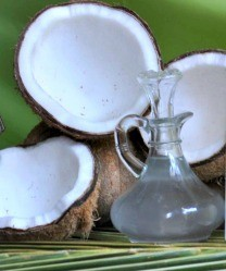 Coconut oil anti aging properties can slow down your biological clock.