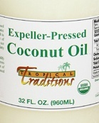 Coconut oil expeller pressed is a good-quality oil you can use every day.
