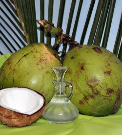 Virgin coconut oil for acne treatment and prevention